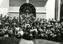 1990 a. Põlva leerilapsed45. aastapäev
